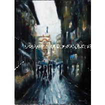 venice dark alley-oil 2008